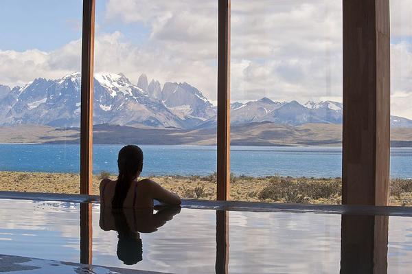 Vue sur la Patagonie