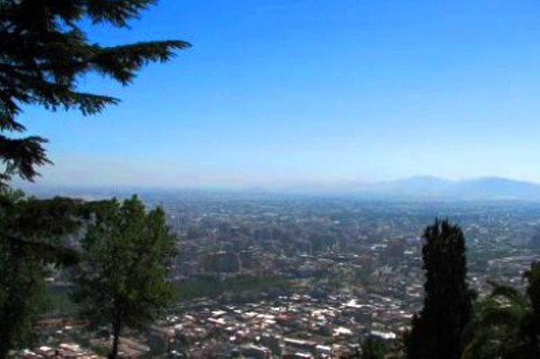 Vue du Cerro San Cristobal
