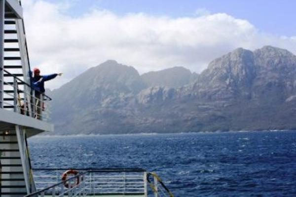 Las Montañas fjord