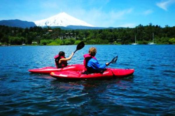 Kayak à Pucón