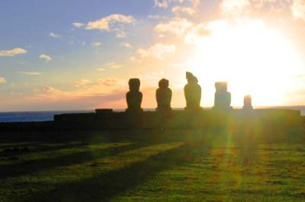 Sunset - Easter Island