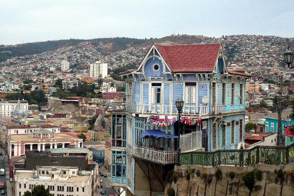 Valparaiso de jour