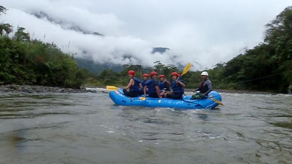 Banos raft