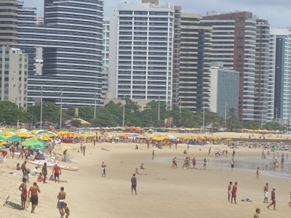 Fortaleza urban Beach