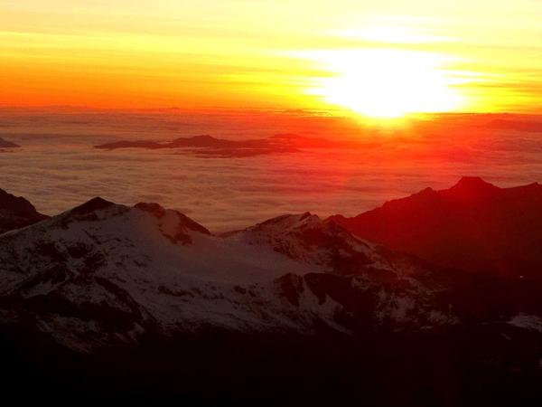 Huayna Potosi, Real Cordillera