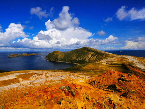 The Sun island, region of Titicaca