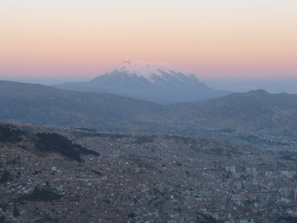 Vista general, La Paz