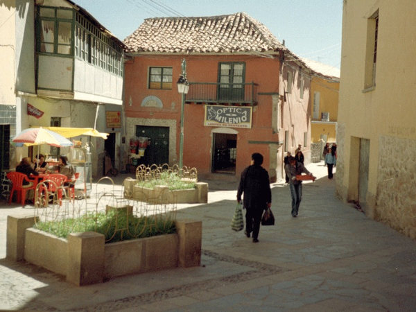 Calle peatonal, Potosi