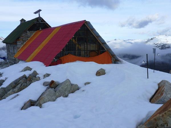 Refugio Campo Roca, Cordillera Real