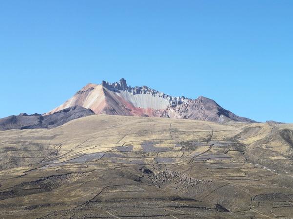 En la dirección entre Tahua y Coquesa, Lipez
