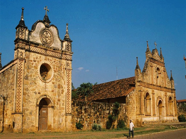 Church, San Jose de Chiquitos
