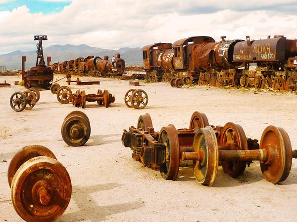 Cementerio de trenes, Uyuni
