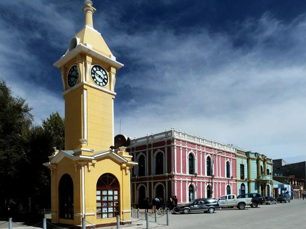 Centro de la ciudad, Uyuni