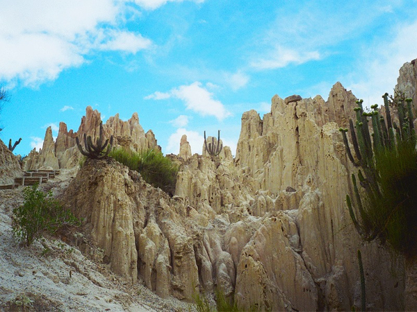 Valle de la Luna, región de La Paz