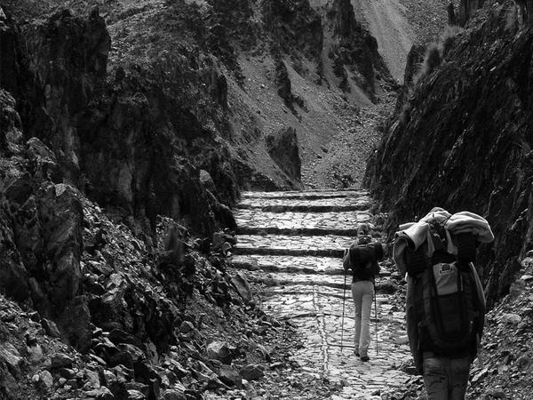 Trek del Takesi, región de los Yungas