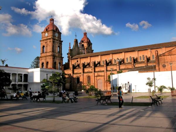Menor de San Loreno Basilica, Santa Cruz