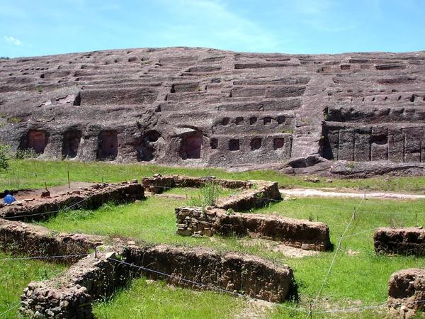 Fortaleza de Samaipata (ruinas pre-inca)s, región de Santa Cruz