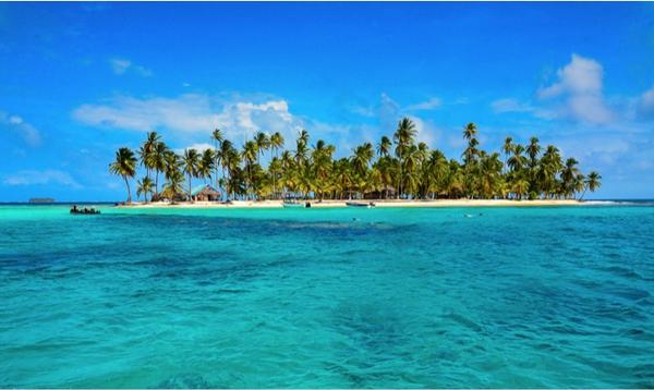 Ile déserte, Panama