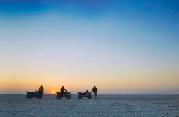 Pans salés du Makgadikgadi- Botswana