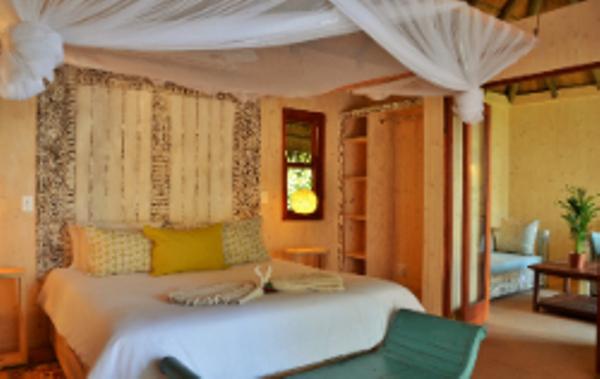 Lodge Bakwena au Botswana.