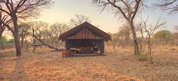 Camp mobile Chobe Under Canvas- Botswana.