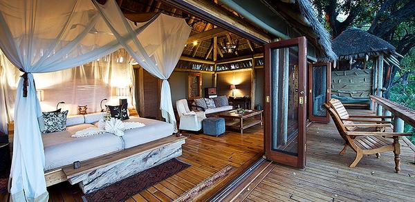 Jao camp au Botswana.