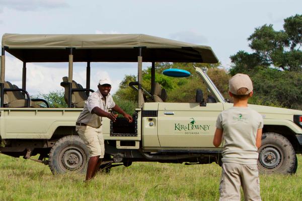 Safari en famille au Botswana.