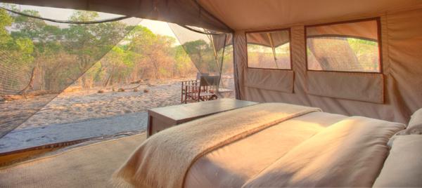 Camp mobile Savute Under Canvas- Botswana.