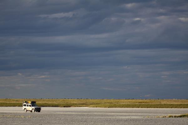 Tau Pan in Botswana.