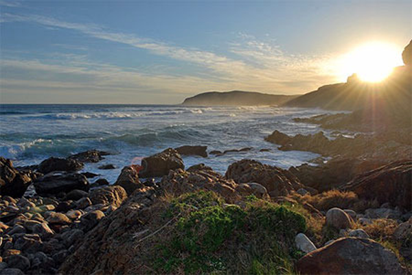 Robberg Nature Reserve at Plettenberg Bay in South Africa