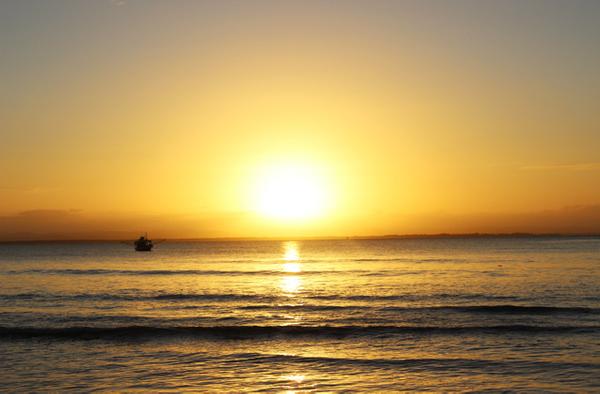 Sunset in Barra Grande, Bahia