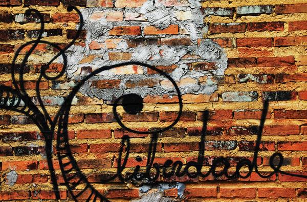 """""""Freedom', Street Art in Bahia"""