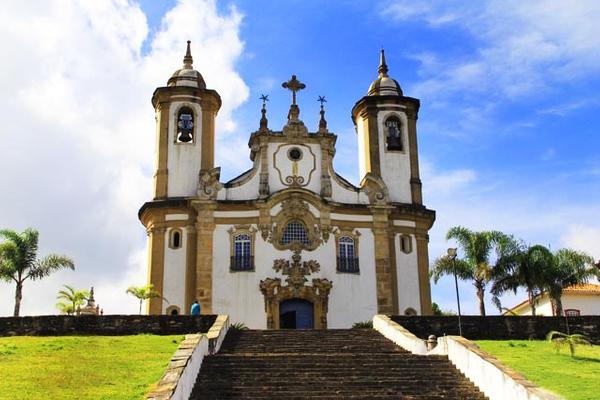 Ouro Preto Church, Minas Gerais