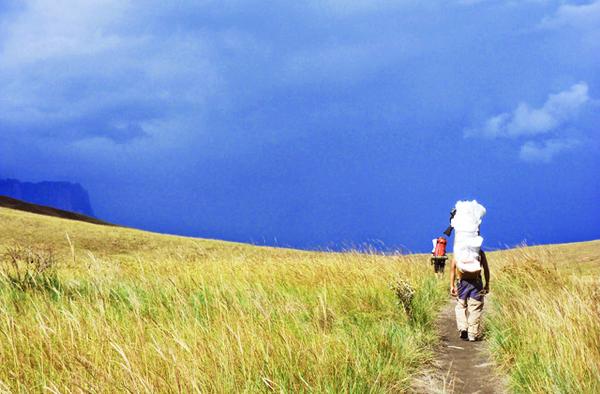 Trekking in Mount Roraima