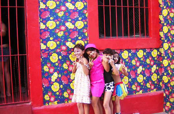Girls in Olinda, near Recife