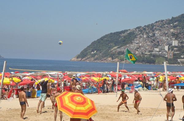 Ipanema Beach, Rio