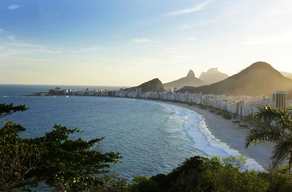 Capacabana Beach, Rio