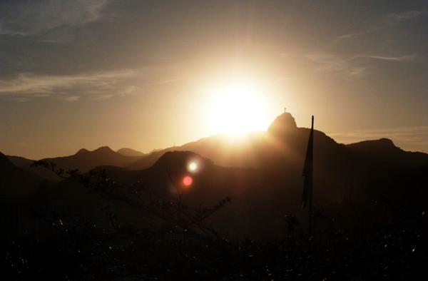 Corcovado Sunset, Rio