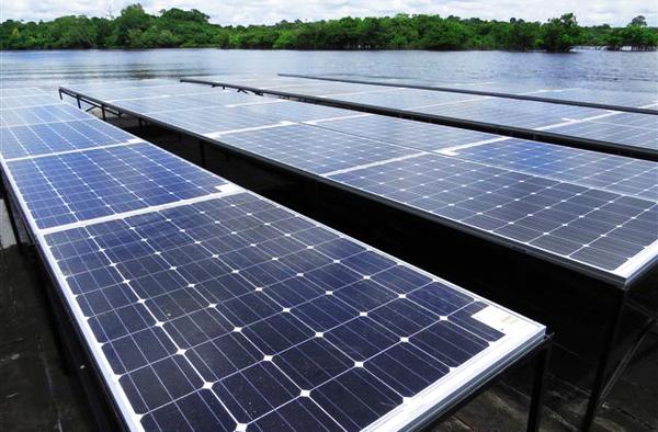 Solar Panels at Juma Lodge