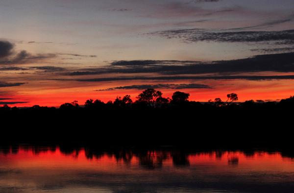 Sunset at Juma Lodge