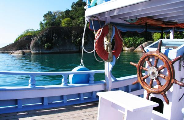 Tour en bateau à Paraty