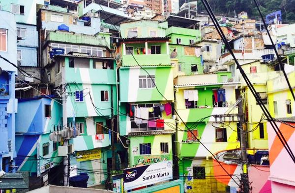 Favela Santa Marta, Rio