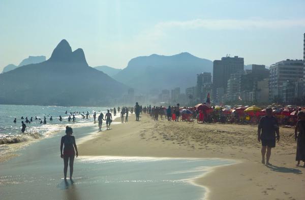 Plage d'Ipanema, Rio