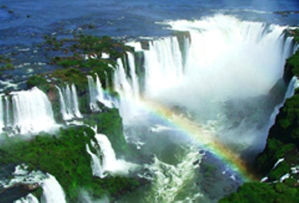 Iguaçu Falls sky view
