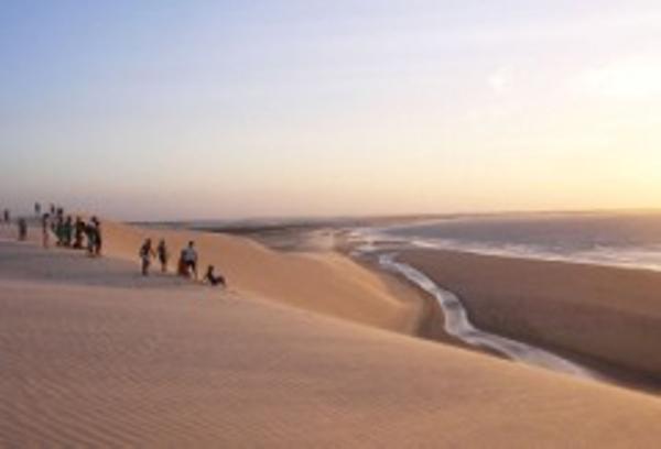 Sand Dunes in Jericoacoara