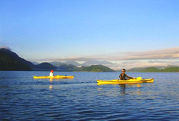 Kayak, Saco do Mamangua