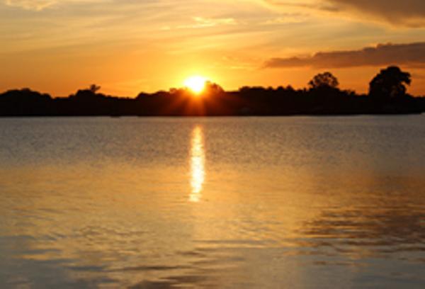 Manaus Manati Lodge sunset