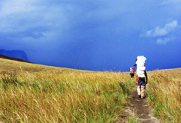 Mount Roraima Trekker