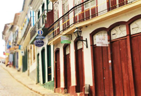 Streets in Ouro Preto