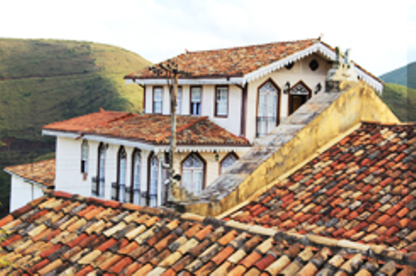 Ouro Preto, colonial houses